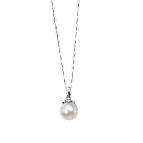 13MM South Sea Pearl Pendant - from Holsten Jewelers