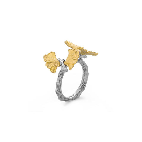 Butterfly Gingko Double Butterfly Ring - from Holsten Jewelers