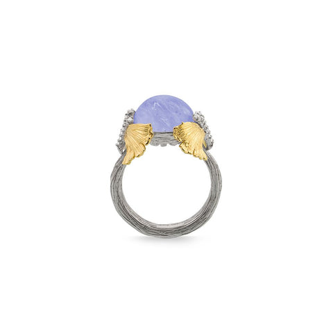 Butterfly Gingko Double Butterfly Dome Ring - from Holsten Jewelers