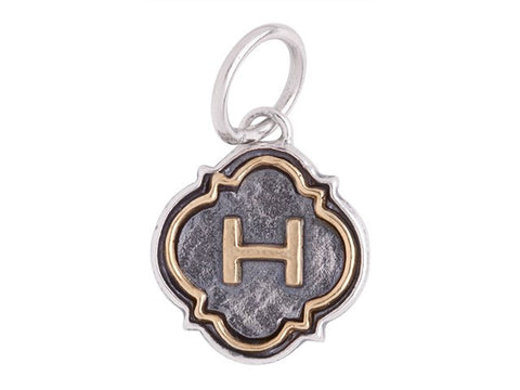 Waxing Poetic Initial H - from Holsten Jewelers