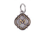 Waxing Poetic Initial M - from Holsten Jewelers