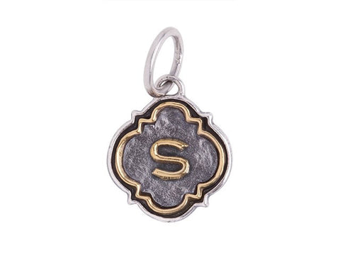Waxing Poetic Initial S - from Holsten Jewelers