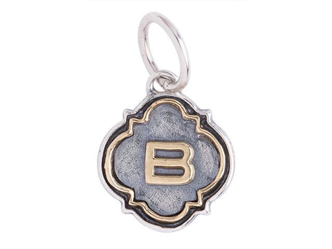 Waxing Poetic Initial B - from Holsten Jewelers