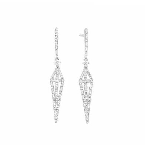 Design Art Deco  Earring - from Holsten Jewelers
