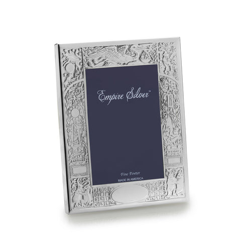 Birth Record Pewter Baby Frame - from Holsten Jewelers