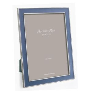 4x6 Denim Enamel Frame - from Holsten Jewelers