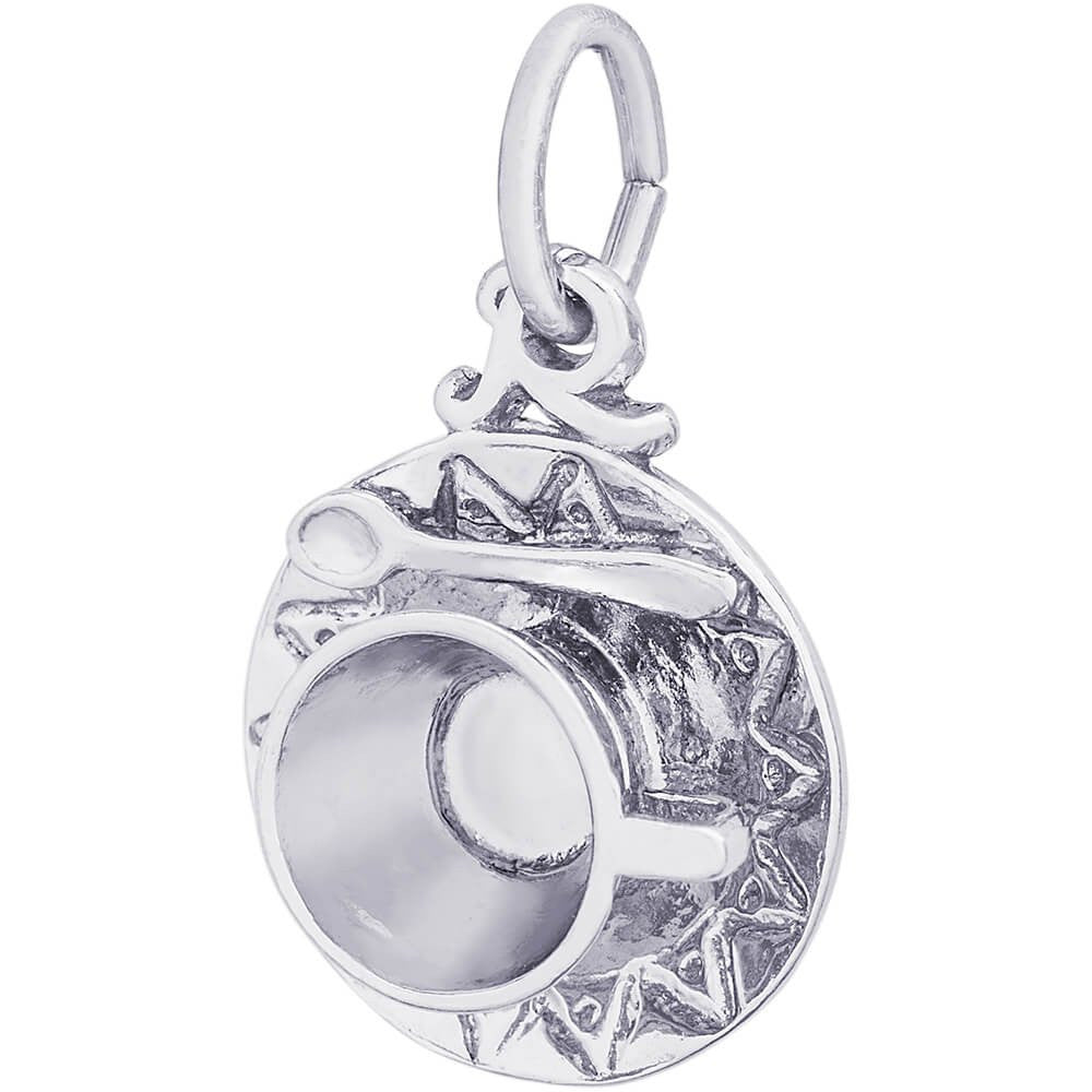 Cup & Saucer Charm - from Holsten Jewelers