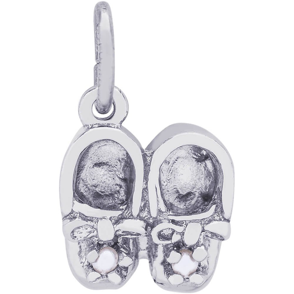 Baby Booties Accent Charm - from Holsten Jewelers