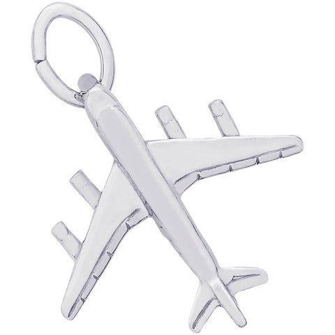 Sterling Silver DC 8-707 Plane Charm - from Holsten Jewelers