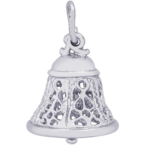 Filigree Bell Charm - from Holsten Jewelers