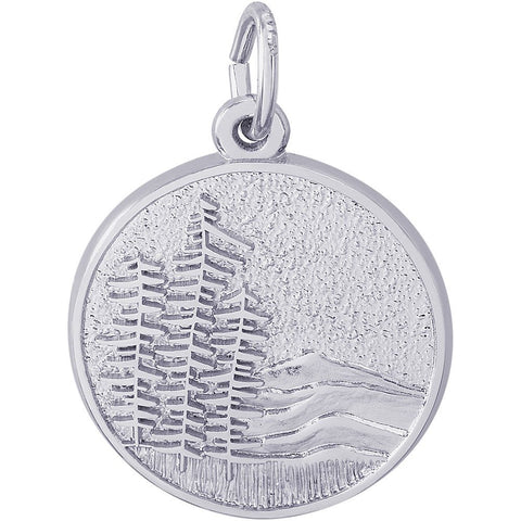 Mountain Scene Charm - from Holsten Jewelers