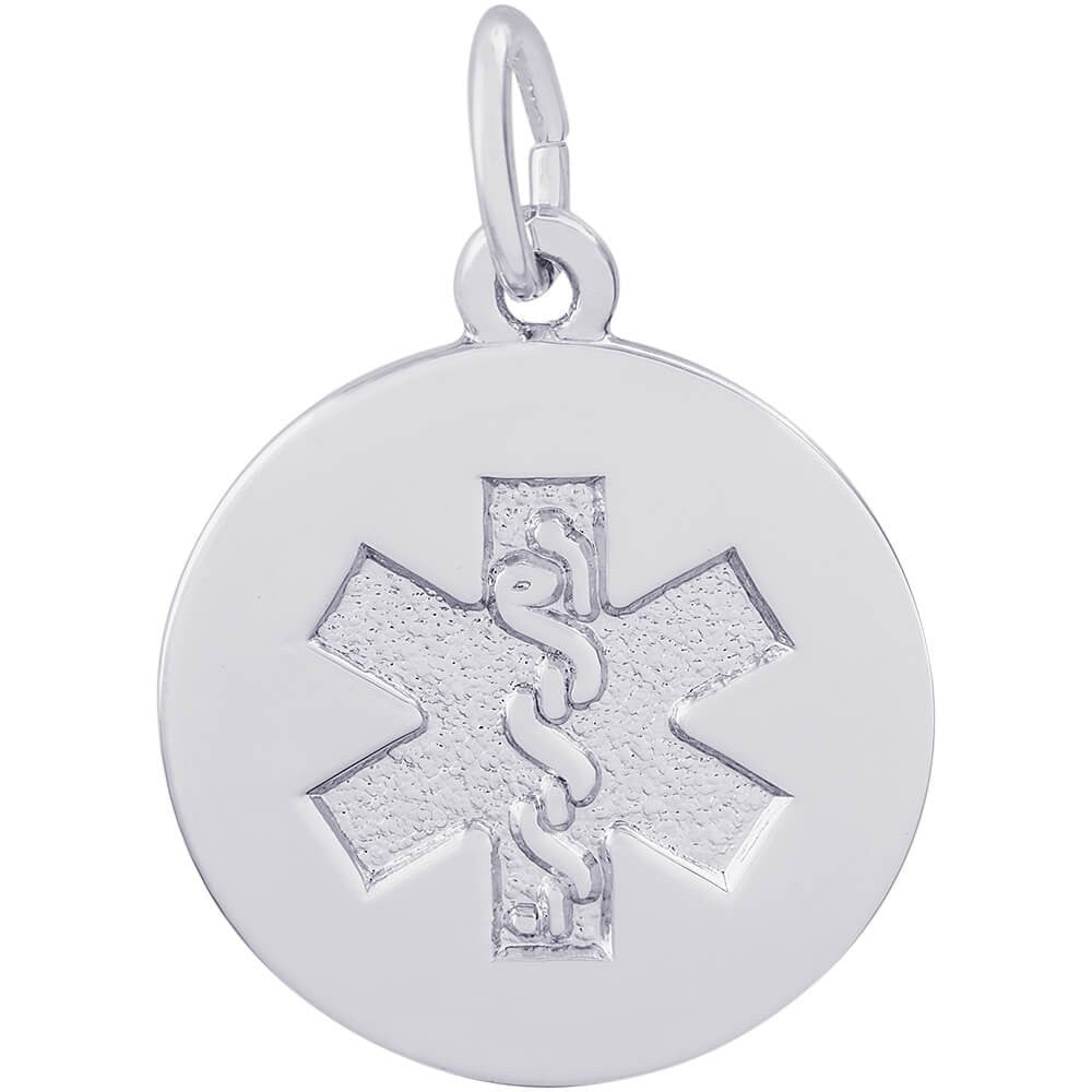 Medical Symbol Charm - from Holsten Jewelers