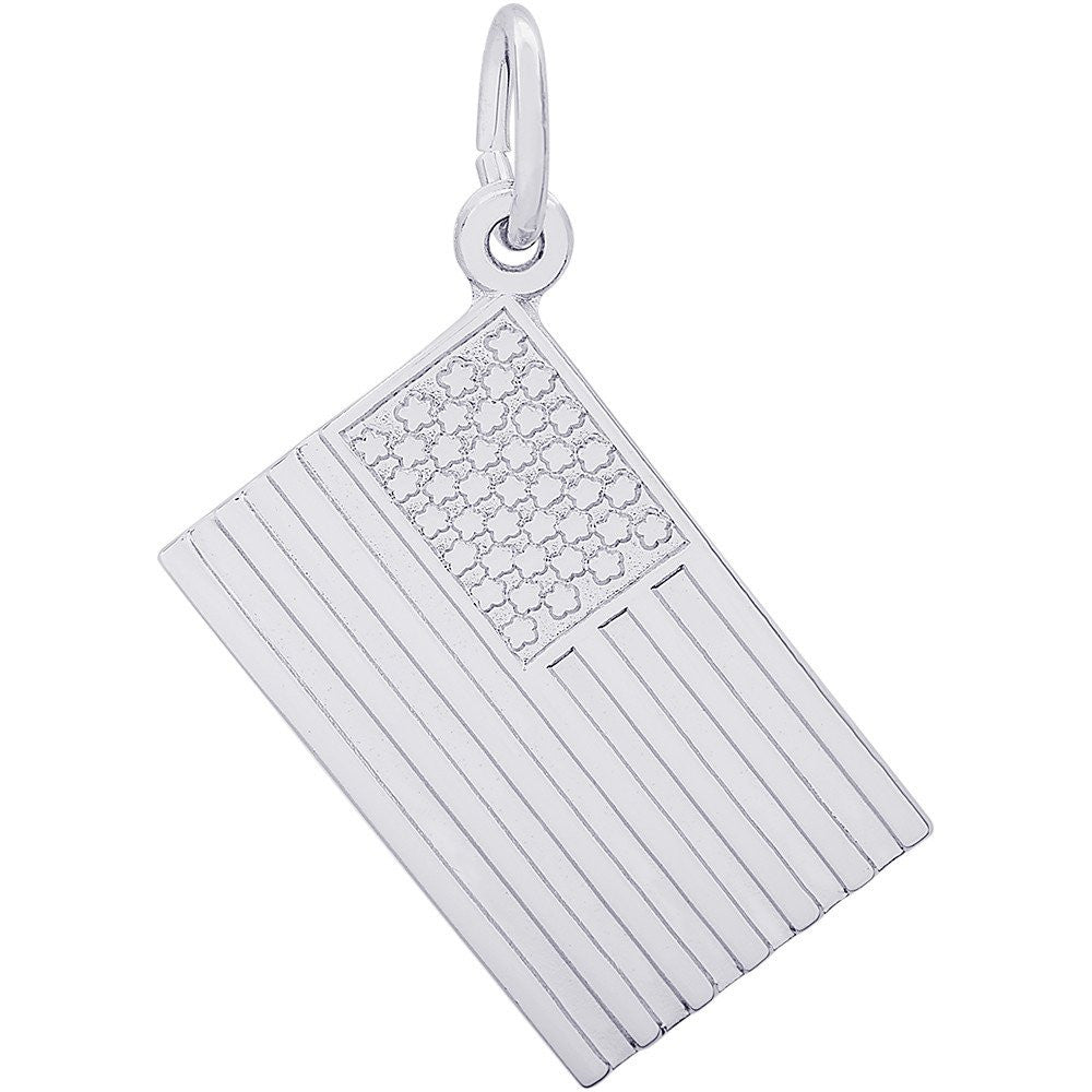 American Flag Charm - from Holsten Jewelers
