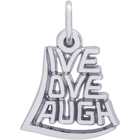 Live, Love, Laugh Charm - from Holsten Jewelers