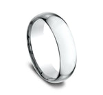 14k White Gold 7mm Comfort Fit Wedding Band Size 8 - from Holsten Jewelers