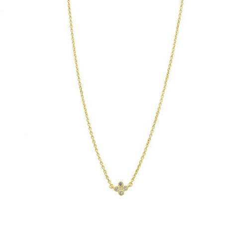 Frieda Rothman Mini Clover Necklace - from Holsten Jewelers