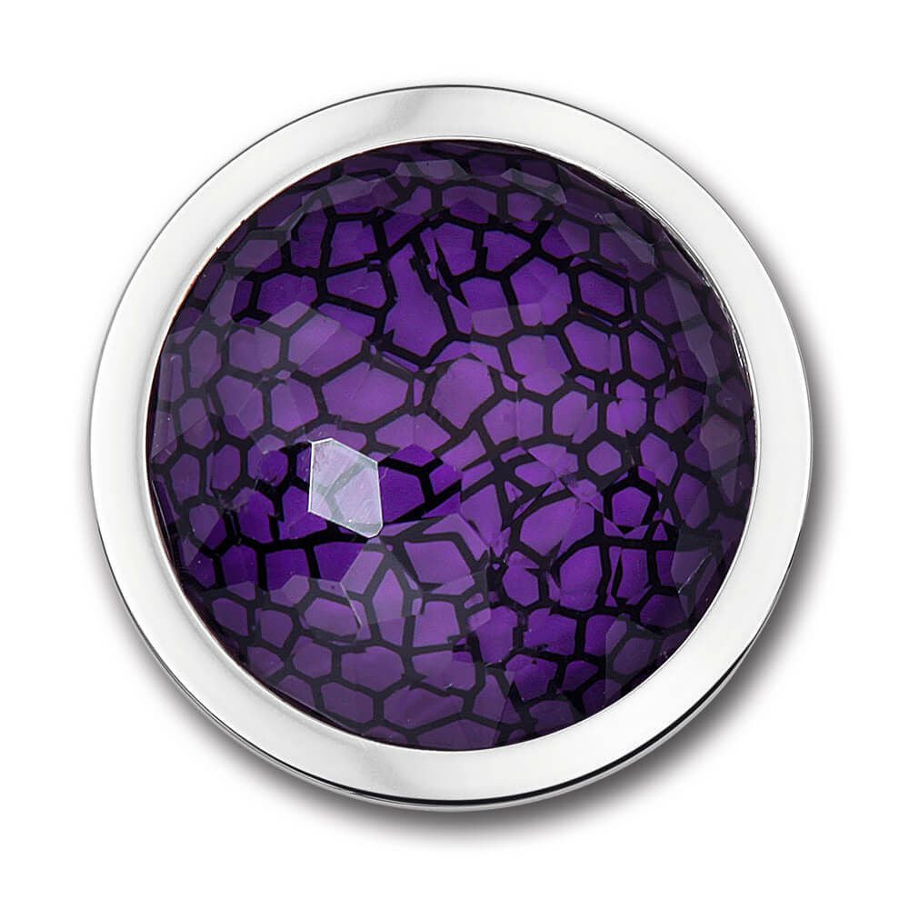 Escala Purple Charm with Swavorski Crystal Elements