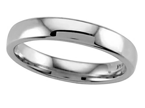 14k White Gold 4.5mm Wedding Band Size 10 - from Holsten Jewelers
