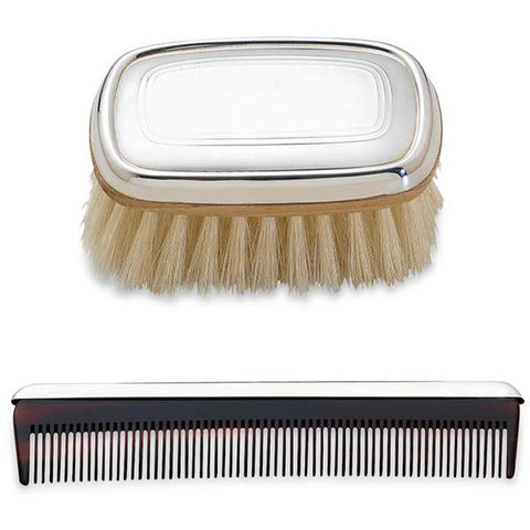 Sterling Boy's Brush & Comb Set - from Holsten Jewelers