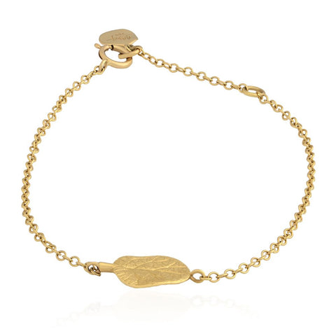 Botanical Leaf Chain Bracelet - from Holsten Jewelers