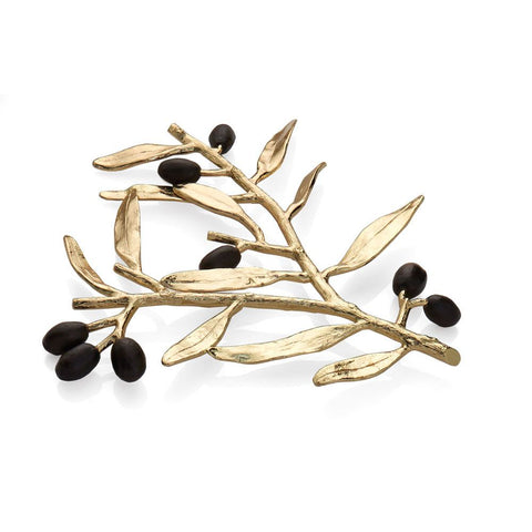 Olive Branch Gold Trivet - from Holsten Jewelers
