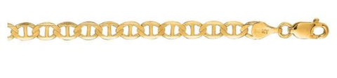 14k Yellow Gold Mariner Bracelet