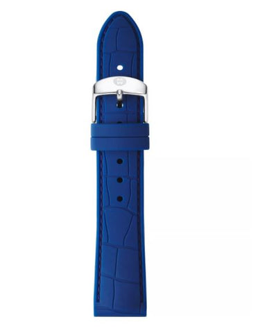 Michele Navy Rubber 18mm Wtchstrap