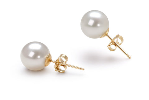 8MM Pearl Studs - from Holsten Jewelers