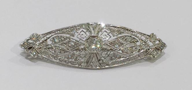 Vintage Diamond Brooch
