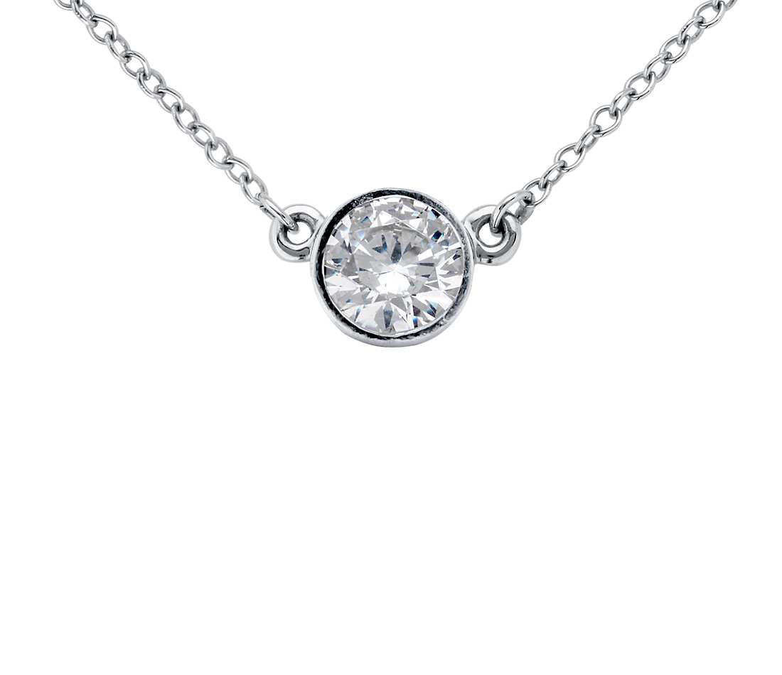 diamond gold oh necklace in white inspire devotion inspir round bezel pendant products