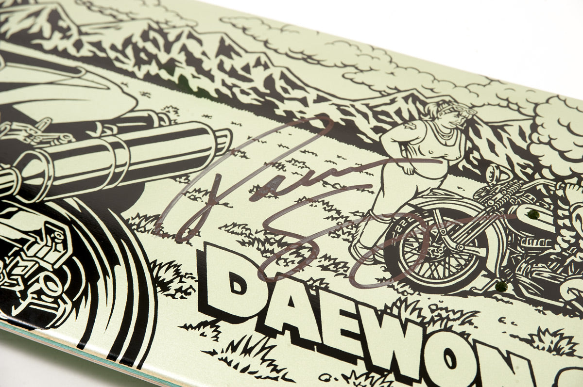 Daewon Song Signed Limited Edition skateboard deck
