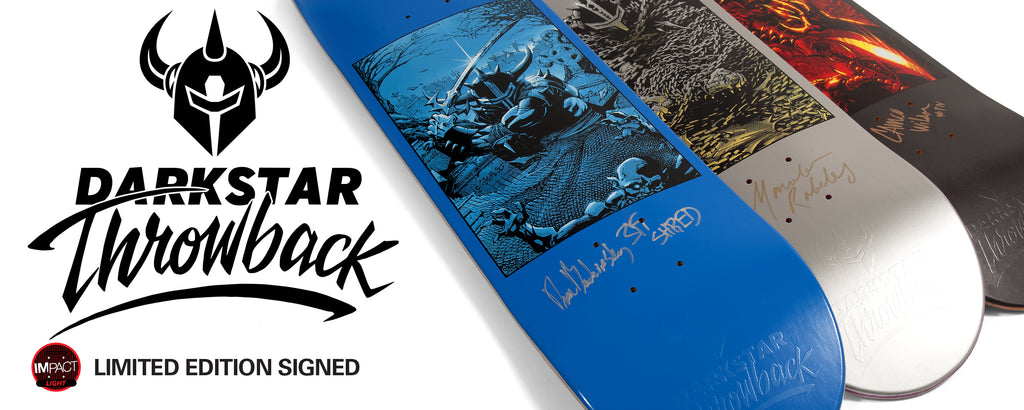 Darkstar Skateboards Signed Limited Edition Impact Decks