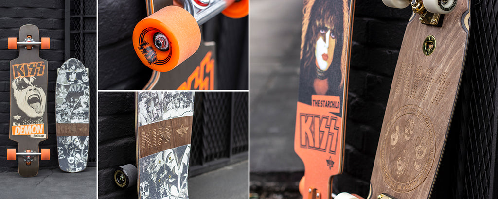 Dusters California Cruiser Skateboards Kiss Longboards