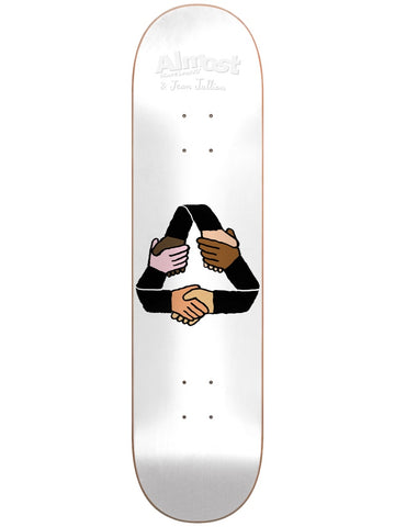 Almost Jean Jullien Equality Cycle 8.125 R7 Skateboard Deck