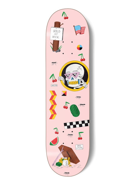 Darkstar Lutzka Cherries 8.25 R7 Skateboard Deck