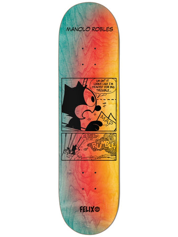Darkstar Manolo Felix Future R7 8.0 Skateboard Deck