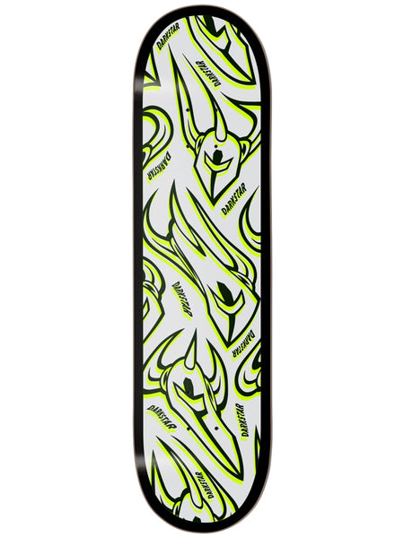 Darkstar Overprint Lime 8.25 Skateboard Deck