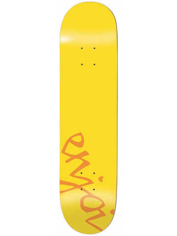 enjoi Early 90's 7.75 Yellow Skateboard Deck
