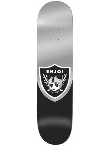 enjoi Oaktown Black 8.125 R7 Skateboard Deck