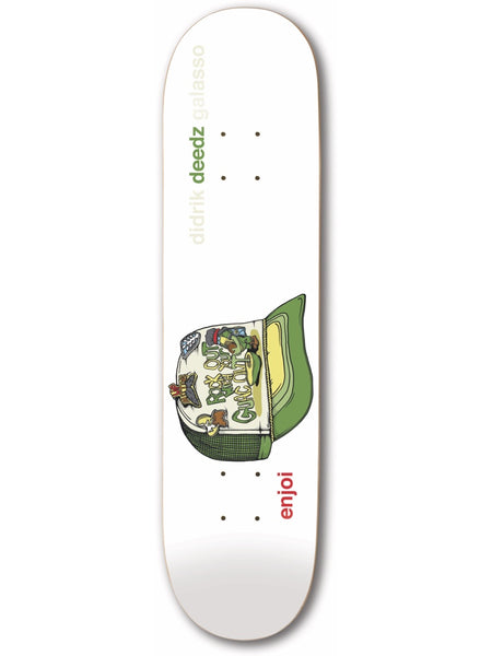 enjoi Deedz Snap Back R7 Skateboard Deck