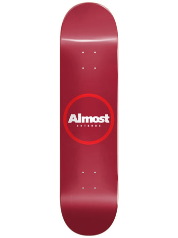 Almost Red Ring Logo 8.25 R7 Skateboard Deck