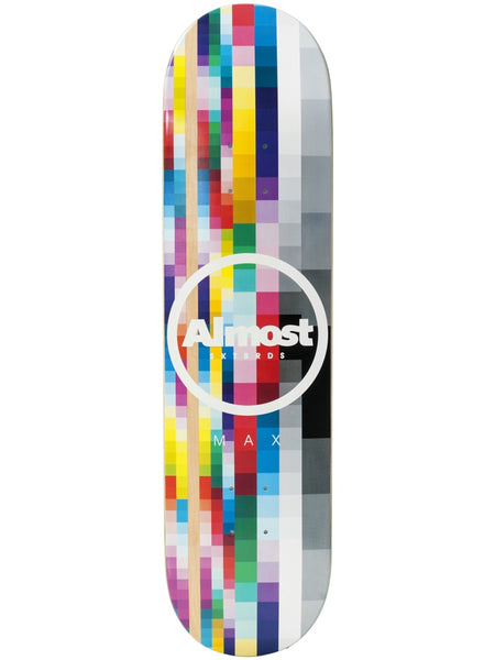 Almost Max Rasterized 8.0 Impact Light Skateboard Deck