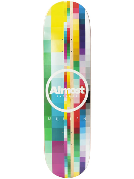 Almost Mullen Rasterized 8.25 Impact Light Skateboard Deck
