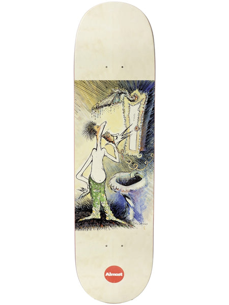 Almost Logo Dr. Seuss  Art Series R7 Skateboard Deck