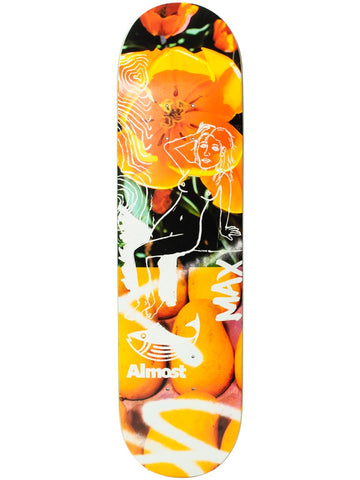 Almost Geronzi Bloom 8.0 Impact Light Skateboard Deck