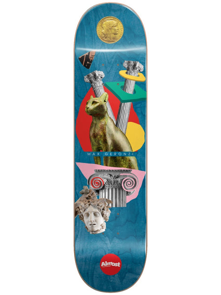 Almost Max Relics R7 Blue 8.125 Skateboard Deck