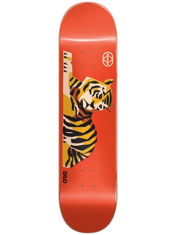 Almost Dilo Tiger King R7 Red 8.5 Skateboard Deck