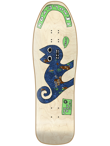 New Deal Templeton Cat Natural HT 9.75 Skateboard Deck