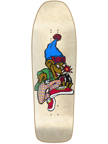 New Deal Sargent Monkey Bomber Natural 9.625 HT Skateboard Deck