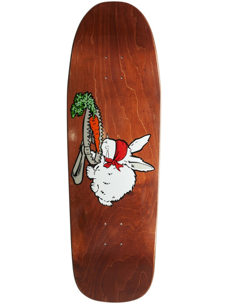 101 Natas Bunny Trap Reissue Screen Printed 9.875 Maroon Skateboard Deck